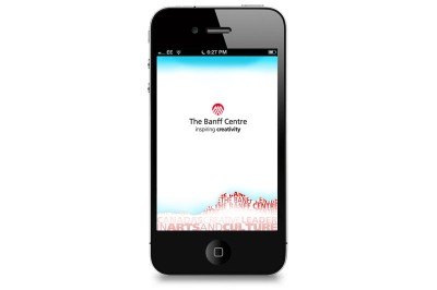 Iphone App – The Banff Centre