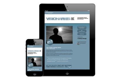 Responsive Web Site – Visionaries